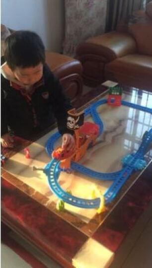 托马斯和朋友(THOMAS&FRIENDS)托马斯小火车电动轨道车大冒险系列套装儿童男孩玩具生日礼物 (新款上市)竞速飞跃轨道套装 DFL93 晒单图