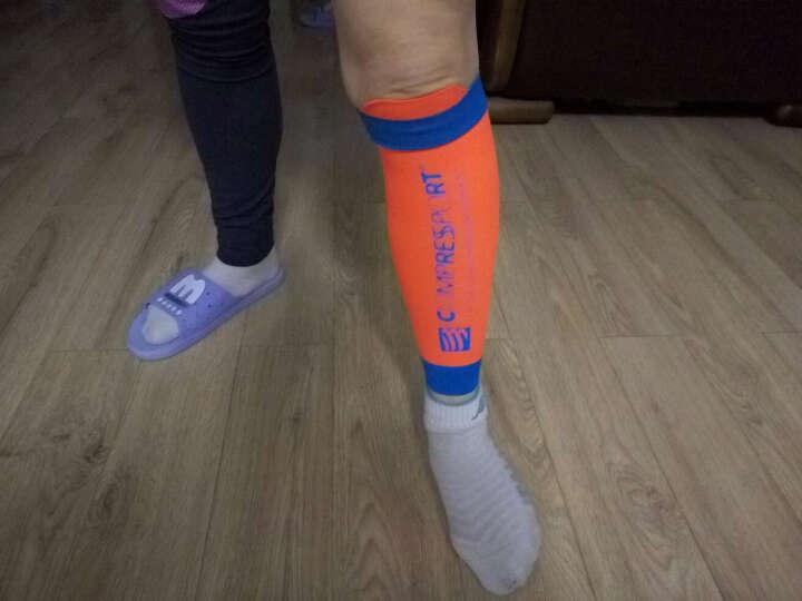 COMPRESSPORT 瑞士compressport r2运动压缩腿套小腿套护腿套 新款v2蓝 T3腿围38-42 晒单图