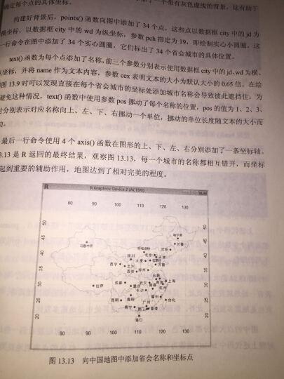 R语言实战:编程基础、统计分析与数据挖掘宝典 晒单图