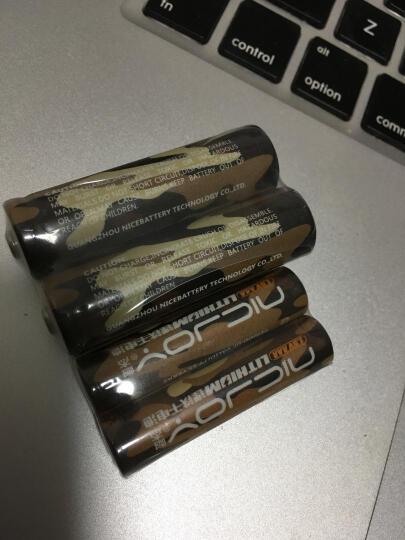 nicjoy耐杰 锂铁7号5号干电池 5号锂电池 动力模航机器人玩具电池 7号电池单节 晒单图