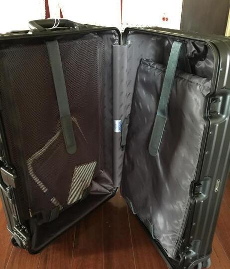 德国日默瓦RIMOWA TOPAS全系列TOPAS STEALTH铝镁合金拉杆箱登机箱行礼箱 经典电子标签款30寸-银色 晒单图