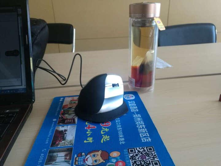 米乔(minicute)EZ5人体工程学鼠标 垂直鼠标 有线直立式鼠标防鼠标手 EZ5银黑色有线激光版 晒单图