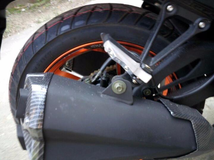 阔路 地平线S款摩托车大跑车150 200 250 350单缸双缸发动机成人两轮大跑车趴赛 磨砂黑 200CC力帆平衡轴链条机  6180元 晒单图