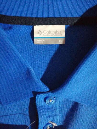 Columbia 哥伦比亚户外男款透气休闲吸湿短袖POLO衫PM3706 656 L 晒单图