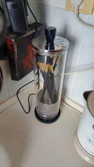筷子消毒机全自动家用消毒盒红外线光波智能带烘干餐具杀菌消毒柜 晒单图