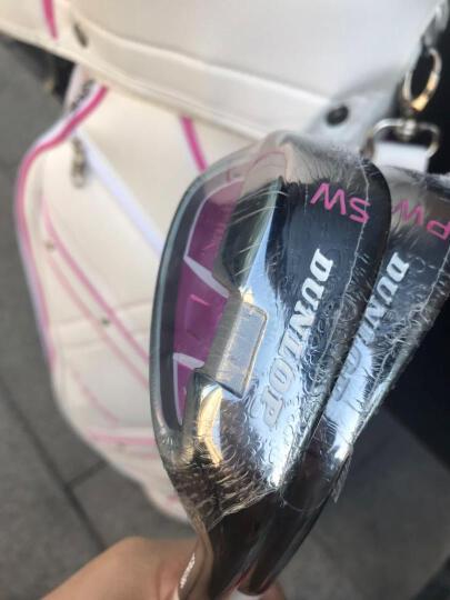 【初学钛合金】登路普(DUNLOP)高尔夫球杆女士套杆 初中级钛合金碳素全套新款 配白色球包 晒单图