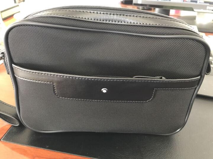 MontBlanc万宝龙男士夜航系列手袋  手拿包 拎包113139 黑色(预售) 晒单图