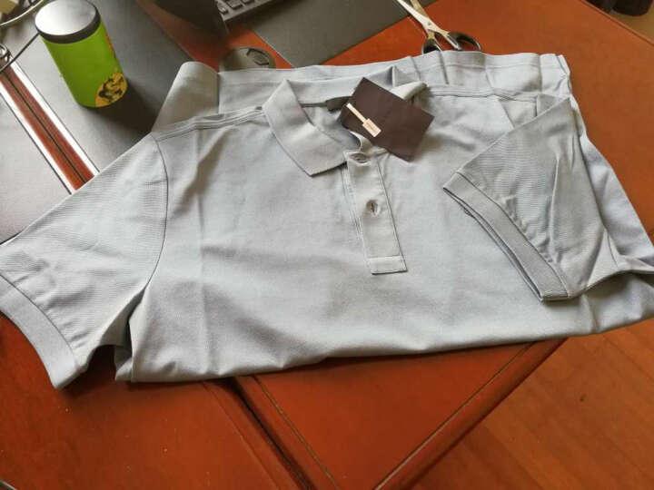 PRADA 普拉达 男士白色棉质短袖POLO衫 UJN077 XGS F0009 XXL码 晒单图