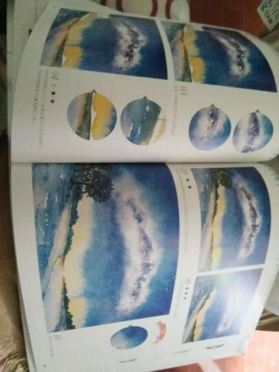 包邮 水彩星享绘 水彩笔绘画基础教程书籍 新手零基础学画水彩画技法方法 晒单图