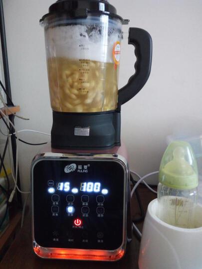 福菱(Fuling)智能加热破壁机 家用全自动豆浆搅拌养生多功能料理榨汁婴儿辅食机 FL2658 粉红色 晒单图