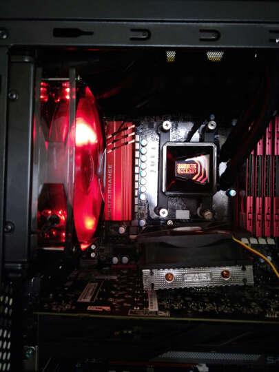超频三(PCCOOLER)巨浪120 CPU水冷散热器 (多平台/一体式水冷/LED红光/12cm智能温控/cpu风扇/配硅脂) 晒单图