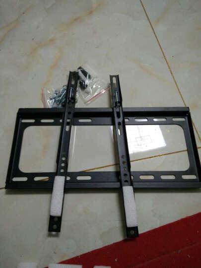 好而易(14-62英寸)液晶电视机通用壁挂架显示器支架TCL海信飞利浦康佳长虹 40-62英寸 一体式加厚加固板 承重50公斤 晒单图