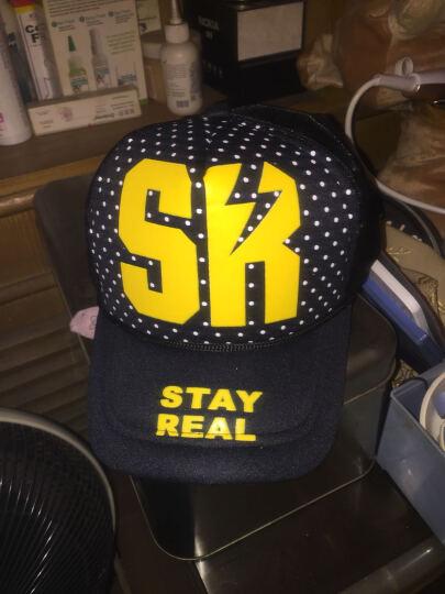 哲时 男女士嘻哈情侣网帽高挺透气卡车货车帽棒球帽遮阳帽子MZ1053 SK 黑色 晒单图
