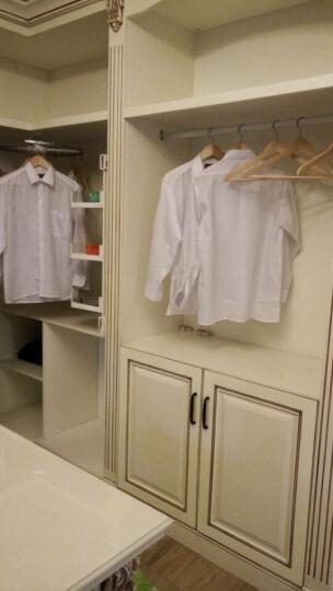 鑫诺伟天(XINNUOWEITIAN) 实木衣柜定制欧式大衣柜定制指节橡木衣橱整体衣帽间 晒单图