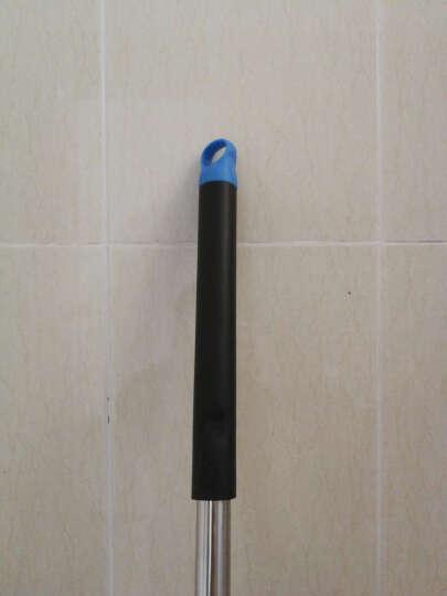 怡诺 免手洗滚轮式胶棉拖把 吸水海绵拖把伸缩杆平板地拖 晒单图
