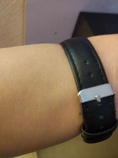 IIKTWOK手表皮带配件 男女士手表皮革表带 通用针扣手表表带 1022G--棕色-20MM 晒单图
