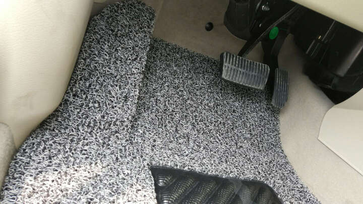康车宝 丝圈定制汽车脚垫专用于奥迪A4L宝马3系君威迈腾帕萨特蒙迪欧名图雅阁凯美瑞起亚K5 米棕色 晒单图