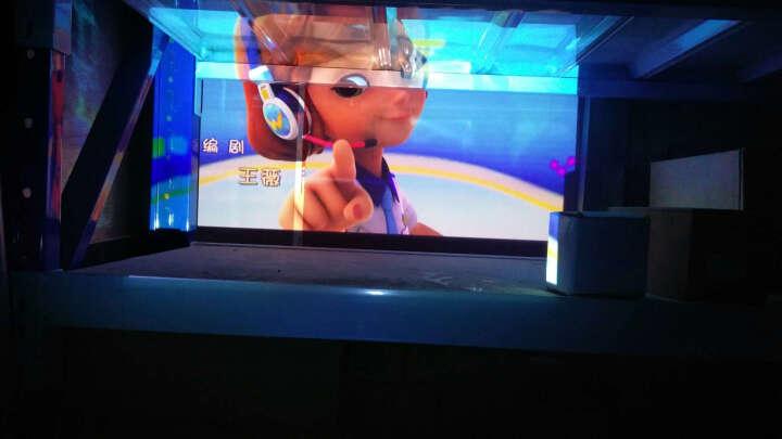 神画(PIQS) 投影仪家用投影机办公用高清影院迷你微型家庭电视手机便携式家用无屏投影电视 商娱培教TT-P(2000流明)+支架 晒单图