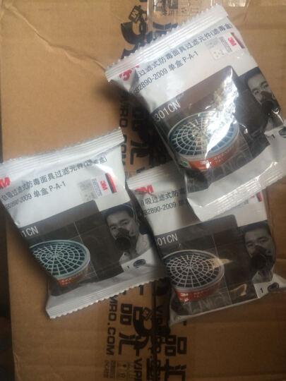 3M 防尘口罩 3200防毒口罩 防毒面具 防化工气体 喷漆 农药 甲醛 防工业粉尘面罩 套餐(防尘套装+100片3701滤棉) 晒单图