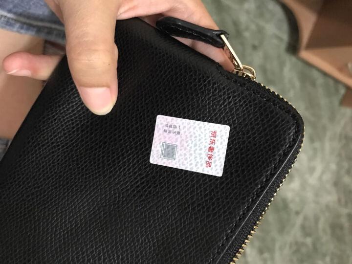 COACH 蔻驰 奢侈品 女款黑色皮革手拿包零钱包 F54626 IMBLK  晒单图