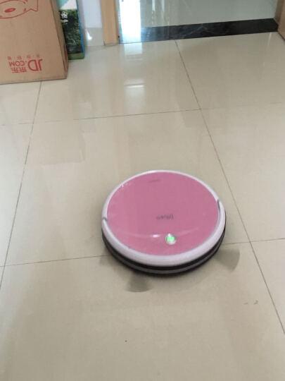Dibea/地贝扫地机器人极光 智能导航规划式扫地机器人家用吸尘器全自动擦地拖地机 媚影红 晒单图