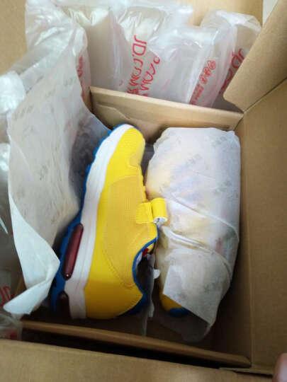 大黄蜂 BIG WASP 男童鞋 透气运动鞋 儿童青少年跑步鞋 116318555 黄色-37码 晒单图