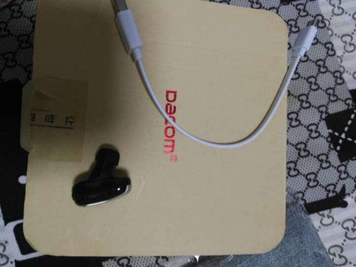 Dacom K8 无线蓝牙耳机迷你小隐形运动适用于苹果华为小米VIVO OPPO通用版 标准版-黑色【赠运费险★1年质保】 晒单图
