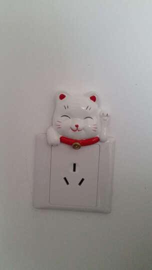 一品尚居  开关贴 树脂 动物 卡通 装饰贴 儿童房 开关套 卡通开关贴 开关贴 猴先生 晒单图