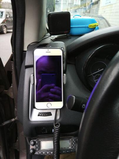 洛克(ROCK) 车载手机支架/车后座支架 导航支架 适用于苹果小米华为魅族安卓通用 车载支架豪华版-灰色 晒单图