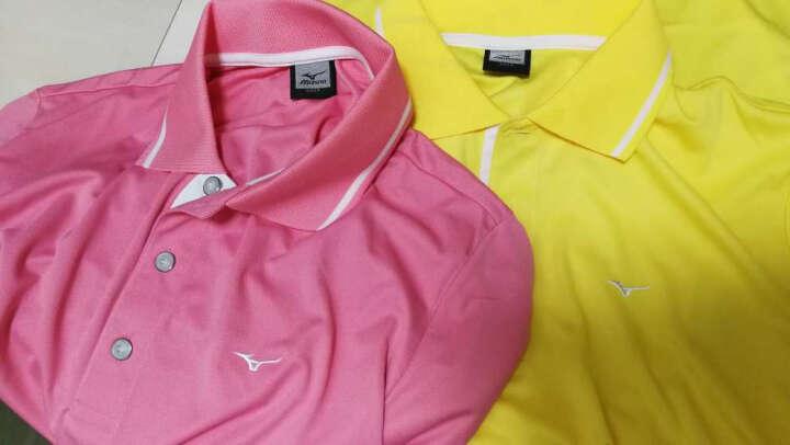 高尔夫T恤 美津浓 MIZUNO 男 高尔夫服饰 T恤 多色 粉色 L码 晒单图