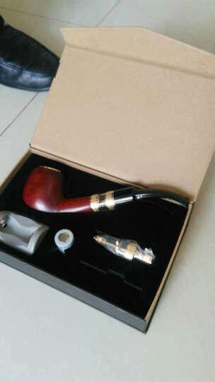 康诚一品电子烟斗实木打造烟斗替烟产品电子烟套装大烟雾礼品套装 晒单图