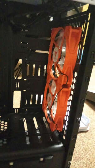 超频三(PCCOOLER)红海MINI增强版 CPU散热器(多平台/2热管/8cm双风扇/附带硅脂) 晒单图