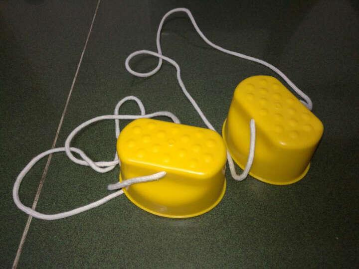 影享  幼儿园儿童感统训练器材踩高跷宝宝运动户外玩具拓展道具早教平衡 黄色笑脸高跷鞋 晒单图