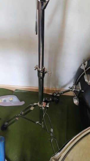 鼓架镲架乐器配件架子鼓20寸叮叮镲片丁丁16寸吊镲支架斜杆18寸吊叉擦斜直两用 晒单图