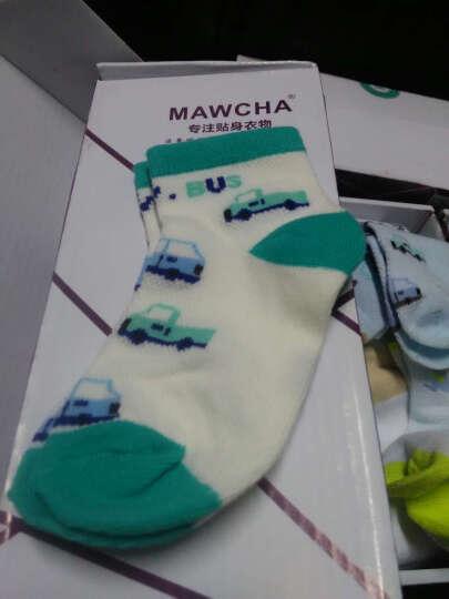 Mawcha 童袜儿童袜子女童中筒棉袜男女童5双装春秋款吸汗透气 条纹混色5双 建议脚长14-16cm(4-6岁) 晒单图