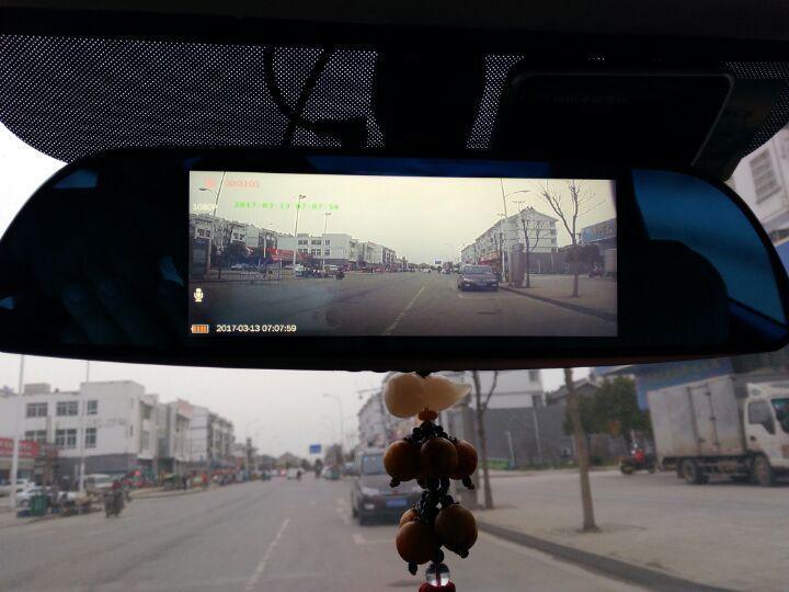 丁威特 7英寸智能3G声控导航仪行车记录仪双镜头电子狗蓝牙wifi升级高清倒车后视一体机 (包安装16G)7英寸声控蓝牙导航记录仪云狗3G版 晒单图