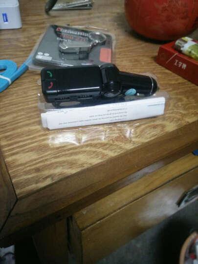 车载蓝牙接收器 汽车免提通话 带双usb充电 车载MP3影音播放器 黑色+8GU盘 晒单图