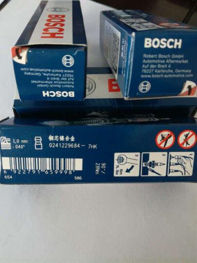 博世(BOSCH) 汽车火花塞 火嘴咀 电蜡 大众车系 EA111发动机 标准系列 宝来1.4T 1.6(11-15款) 晒单图