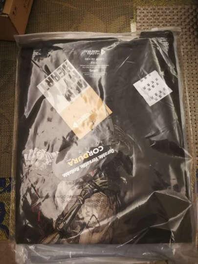 龙牙(Dragon Tooth) 龙牙 中国风古典军事文化衫  I 铁血君品 深炭灰胡服骑射 L 晒单图