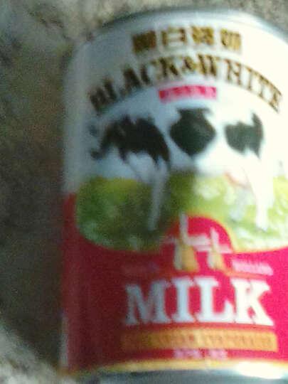 免邮荷兰进口黑白全脂淡奶港式丝袜奶茶甜品原料 黑白淡奶400g*4罐 晒单图