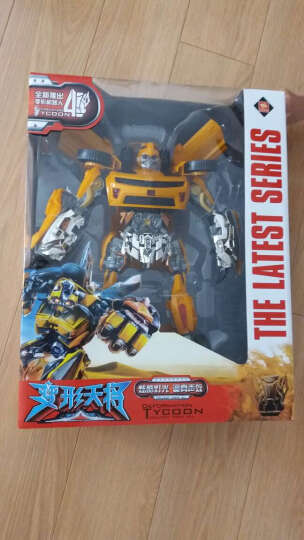 锦江变形玩具金刚5玩具  大黄蜂汽车机器人模型儿童变形玩具男孩玩具 蜘蛛侠 晒单图