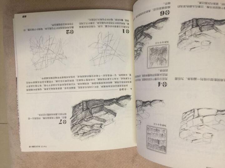 正版 黑白画意——自然风景写生与创意教程 铅笔素描教程书籍 风景速写教程书籍 晒单图