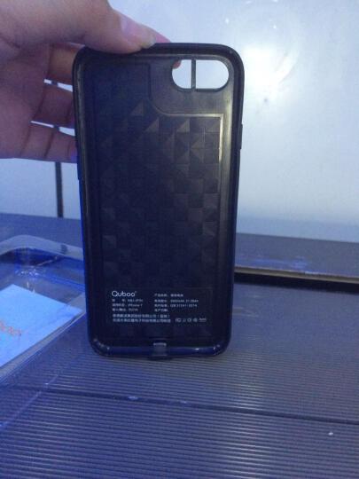 酷波 苹果7 背夹电池/背夹充电宝 5600毫安 可充满手机2次 无下巴软胶手机壳移动电源 红色 适用于iPhone7 晒单图
