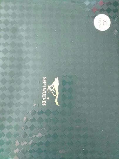 七匹狼男士内裤男平角裤中腰冰丝短裤兰精粘纤透气大码四角裤头4条装 宽边款礼盒装 175/90(XL) 晒单图