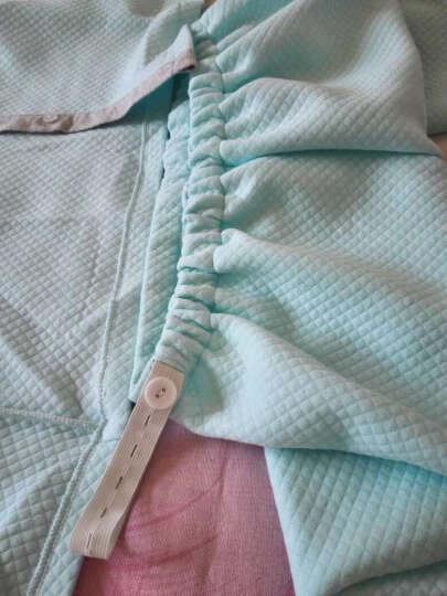 雅孕 秋冬夹棉月子服纯棉哺乳衣孕妇睡衣保暖产妇外出加厚家居服套装 704绿色 M码(110~130斤) 晒单图