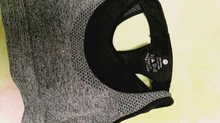 凯萱丝 瑜伽服女套装夏健身服三件套跑步速干衣背心含胸垫运动套装 三件套(07) M 晒单图