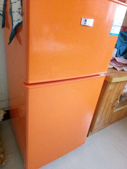 喜力(XIL)101升 双门 迷你小冰箱 家用小型电冰箱 冷藏冷冻节能静音 112升炫银【送货上门】 晒单图