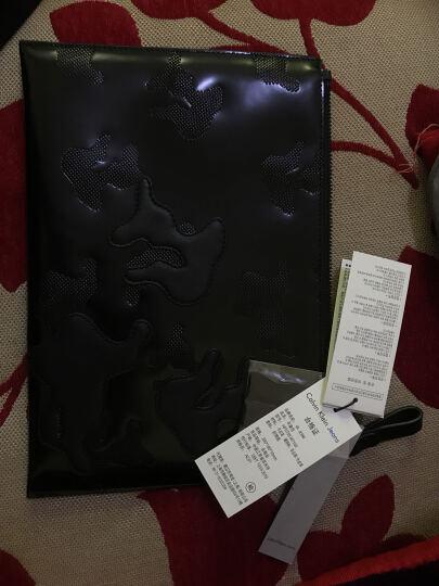 CK JEANS/ 17春夏新款 男士手拿包 HP0758 489-黑底黑印花 晒单图