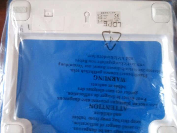 香山 电子称台秤EB3842智能体重秤家用称重电子称人体秤体重计婴儿体重秤健康秤 黑深蓝色 晒单图
