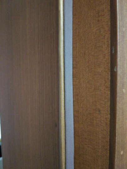 迪福德(DforD) D P E I 型 门窗密封条发泡胶条酒店宾馆房门防撞隔音用 E型白色 10米/盒 晒单图